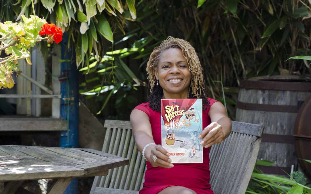 Interview with Carmen Harris (author of the  book Sh*t Happens, Magic Follows (Allow It!)